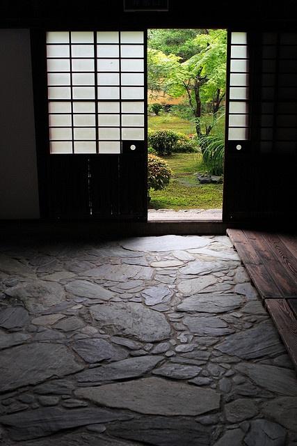entrata di un tempio, kyoto