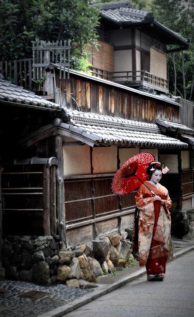 Geisha for Casa tipica giapponese